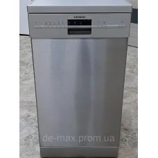 Посудомоечная машина узкая 45см Сименс Siemens SR26T891EU 10комплектов серебристая от интернет-магазина De-max