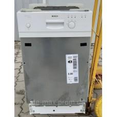 Посудомоечная машина 45см узкая Бош Bosch SRI33E02EU на 9 комплектов белая от интернет-магазина De-max