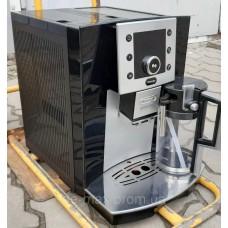 Кофемашина Кофеварка Делонг Delonghi Esam 5500 Perfecta с молочником чёрная от интернет-магазина De-max