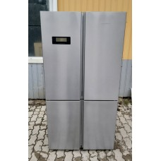 Side-by-Side холодильник A + + 4х дверный Грюндиг Grundig GQN21225X от интернет-магазина De-max